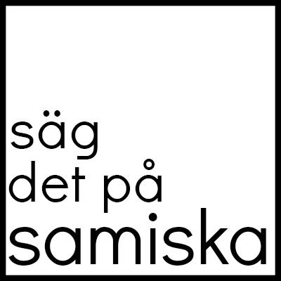 Säg det på samiska